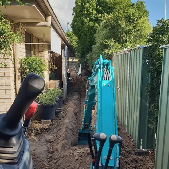 DIY excavating