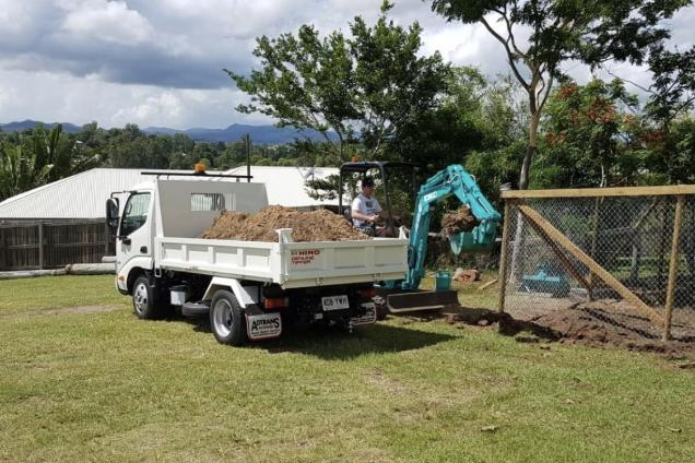 excavating equipment for hire