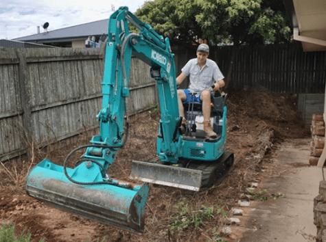 residential diy excavating equipment