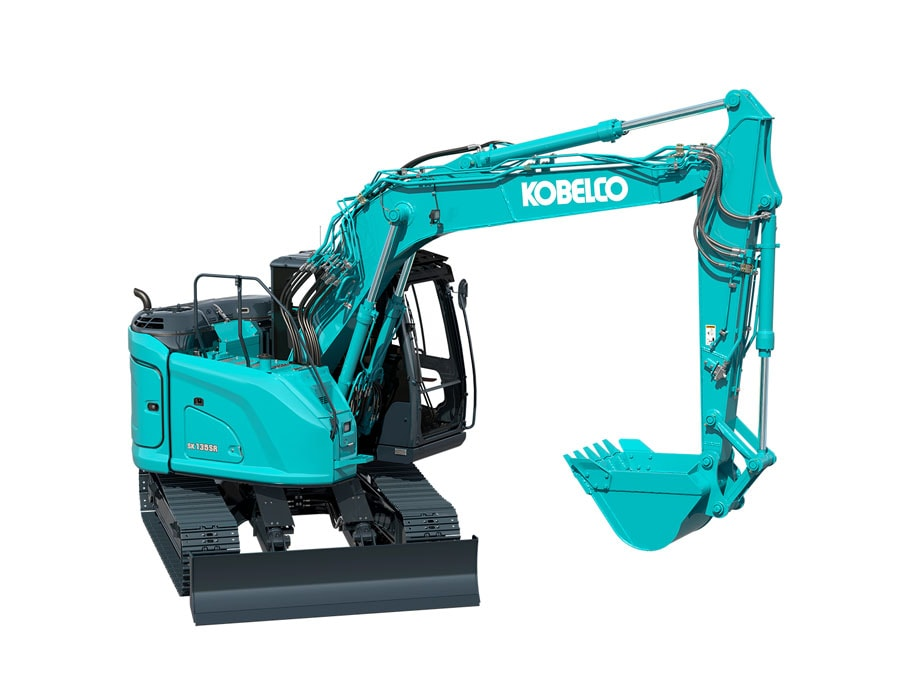 Kobelco SK135SR-5, 13.5t excavator