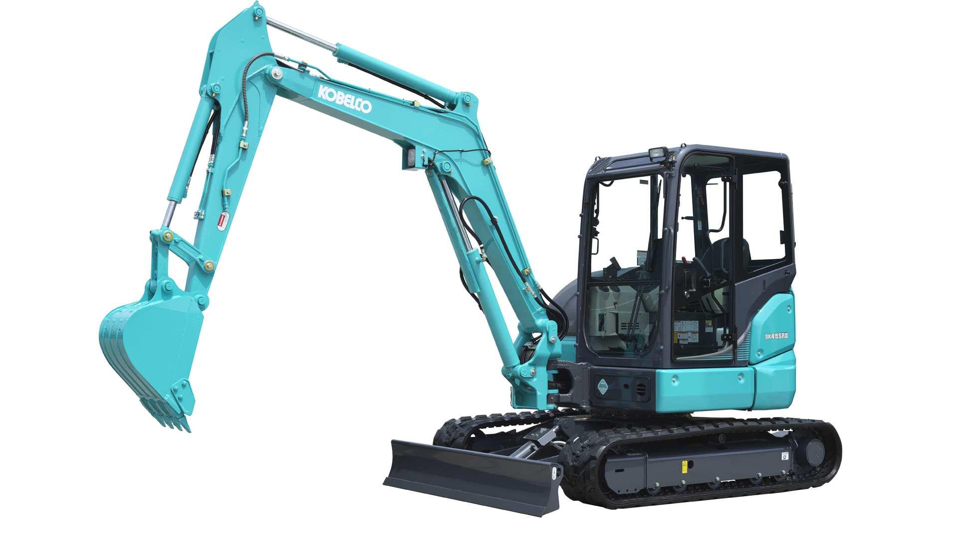 Kobelco SK45SRX-6 5t mini excavator