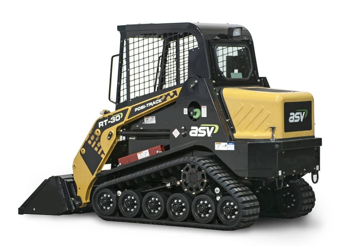 ASV RT-30 excavator
