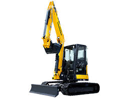 Yanmar VIO08 8t excavating equipment
