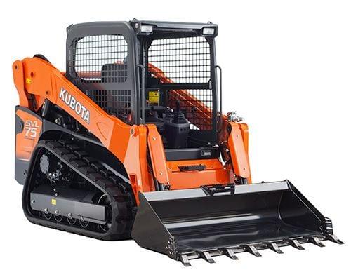 Kubota SVL75-2 4.5t excavating equipment