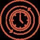 clock flexible icon